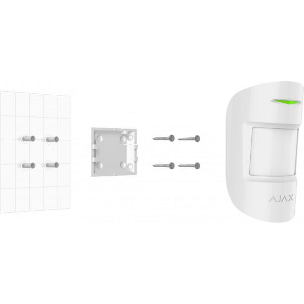 Détecteur de mouvement sans fil immunité animaux pour alarme AJAX - Ref : MotionProtect