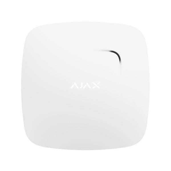 Détecteur de fumée et de température sans fil pour alarme AJAX - Ref : FireProtect