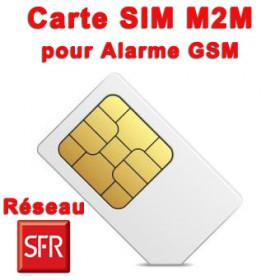 Carte SIM M2M pour alarme GSM