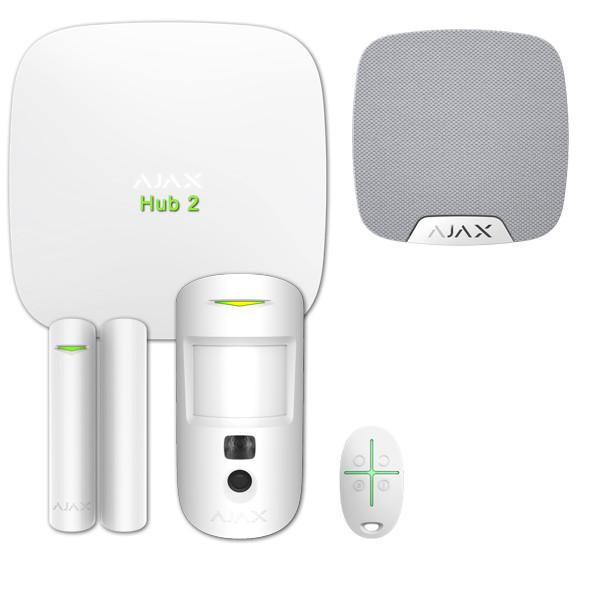 Alarme maison sans fil AJAX Cam Kit n°2