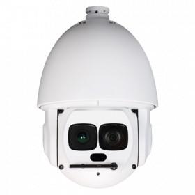 Caméra vidéo surveillance motorisée PTZ 360° IP POE FULL HD 1080P ONVIF IR 500M ZOOM X30 AUTO-TRACKING Exterieur