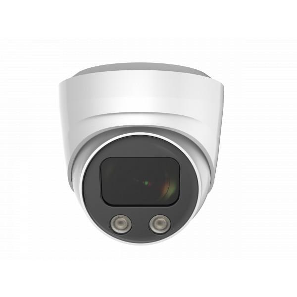 Caméra IP Dôme anti-vandal IR 30M ONVIF POE Capteur SONY 4K UHD 8 MegaPixels Intelligence Artificielle