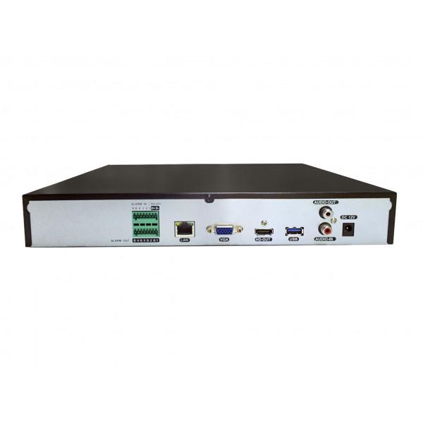 Enregistreur numérique NVR réseau 36 canaux H264+ / H265+ IP ONVIF UHD 4K 5MP 3MP 1080P FULL HD Intelligence artificielle