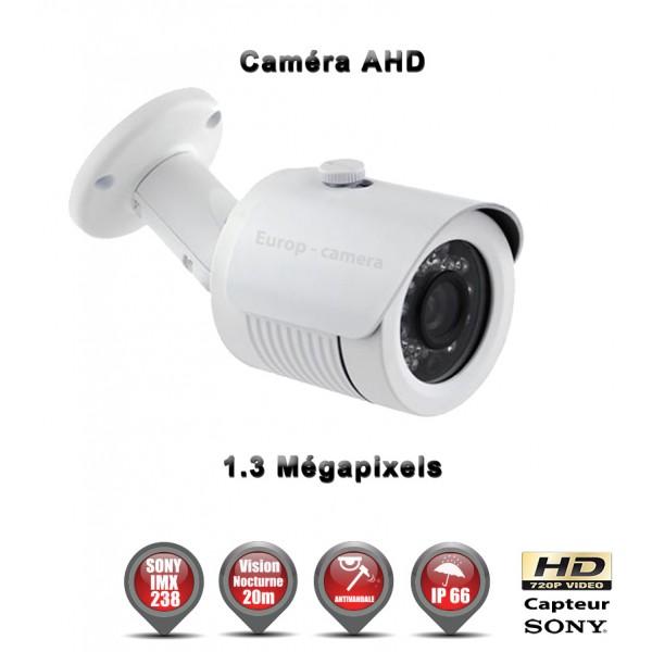 Tube AHD Anti-vandal HD 720P Capteur 1/3 SONY IMX238 IR 20m étanche réf: EC-AHDC20B - caméra de vidéo surveillance