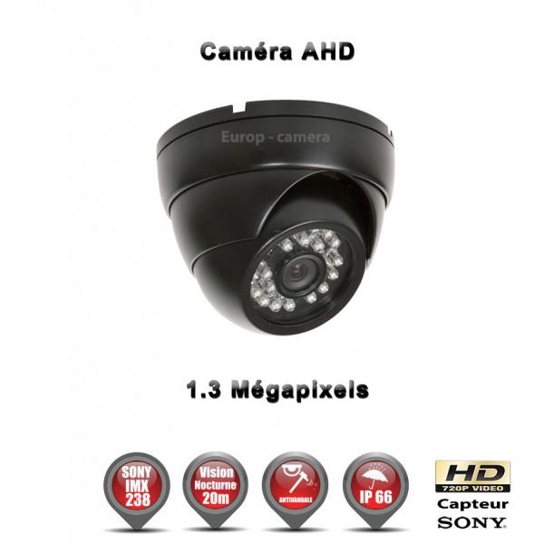 Mini Dôme AHD Anti-vandal HD 720P Capteur 1/3 SONY IMX238 IR 20m étanche réf: EC-AHDD20 - caméra de vidéo surveillance