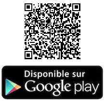 Disponible sur le play store