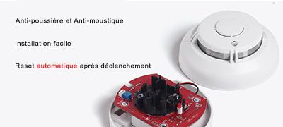 Détecteur de fumée sans fil 868 mhz