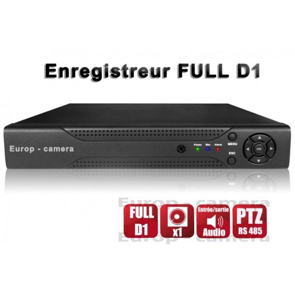 Enregistreur numérique H264 4 canaux FULL D1