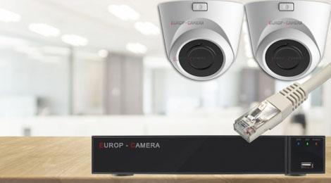 Kit vidéo surveillance IP