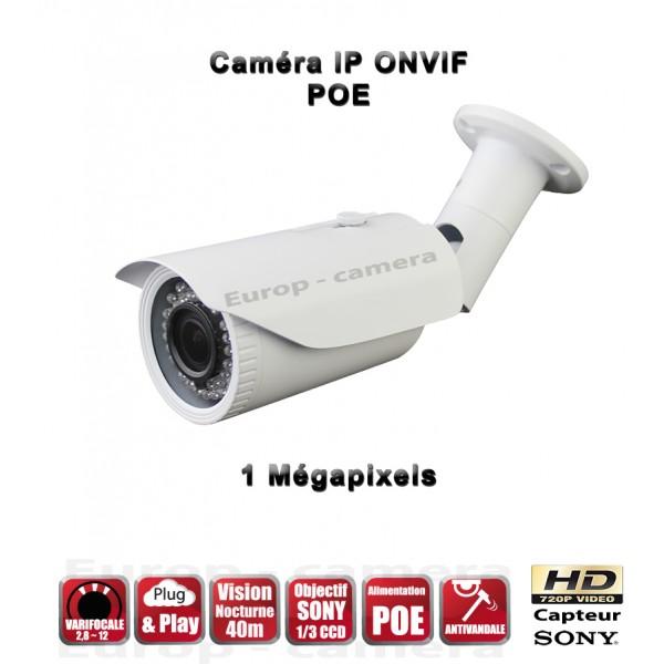 Caméra ip 720P ONVIF 1MP PLUG AND PLAY